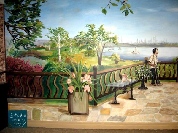 Billiard Mural