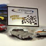 Hinton Automotive - muscle car mural