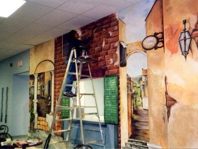 European mural on site