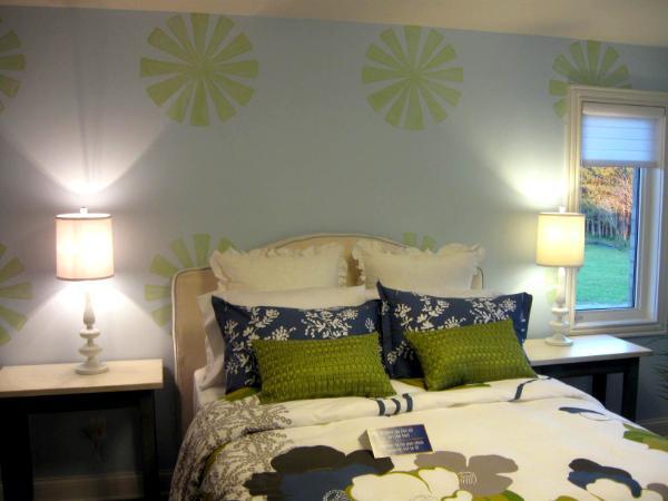 Circles On Guest Bedroom Walls Fine Art Prints Giclees