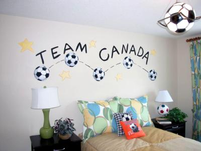 Team Canada mural