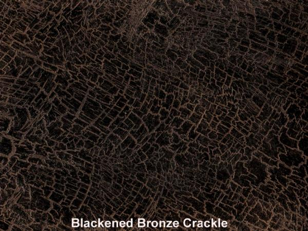 Blackened Bronze Crackle