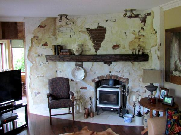 Historic Fireplace reproduction