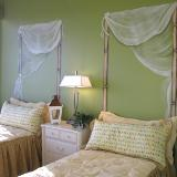 Minto Model Home - painted fabric mural