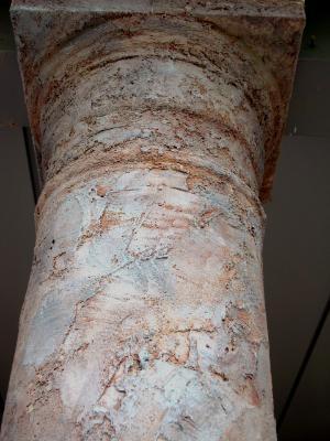 Jewelstone rough textured  pillar
