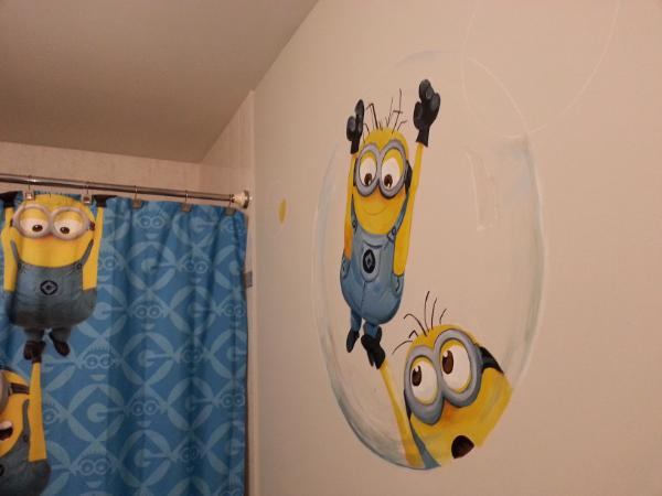 Minion Bubble