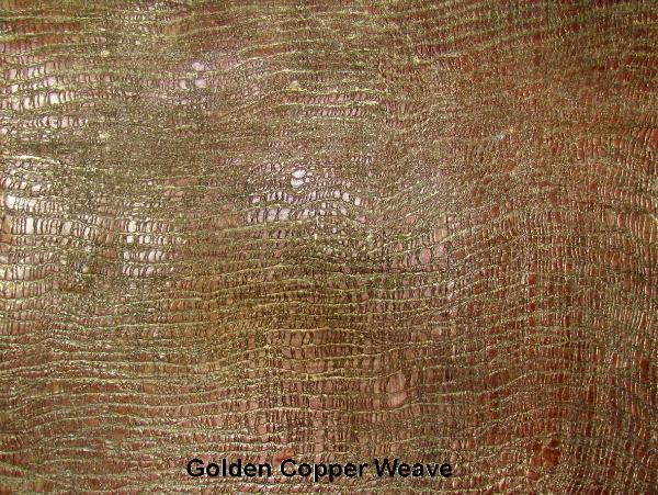 Golden Copper Weave